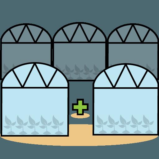 افزایش سطح زیر کشت گلخانه ای