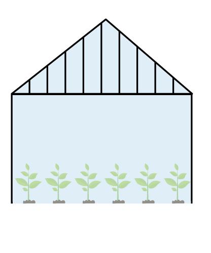 فرم انواع گلخانه شیشهای